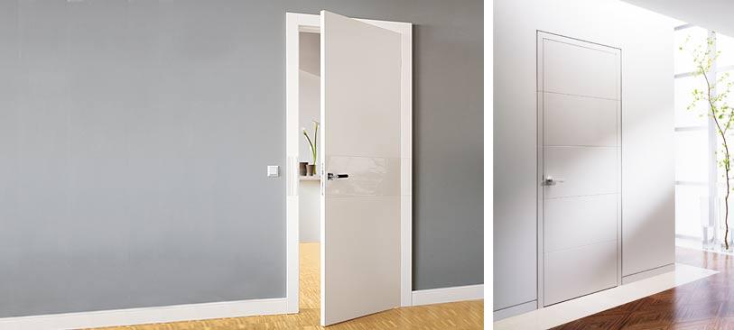 Weiße tür mit zarge  Weisse Türen | Habisreutinger