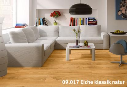 vinylboden massiv eiche natur habisreutinger. Black Bedroom Furniture Sets. Home Design Ideas