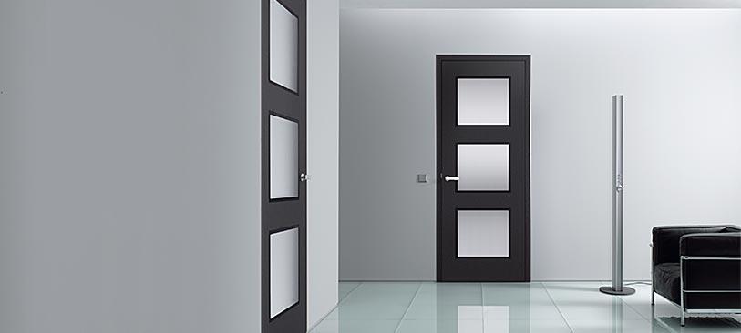 Zimmertüren modern schwarz  Innentüren | Habisreutinger