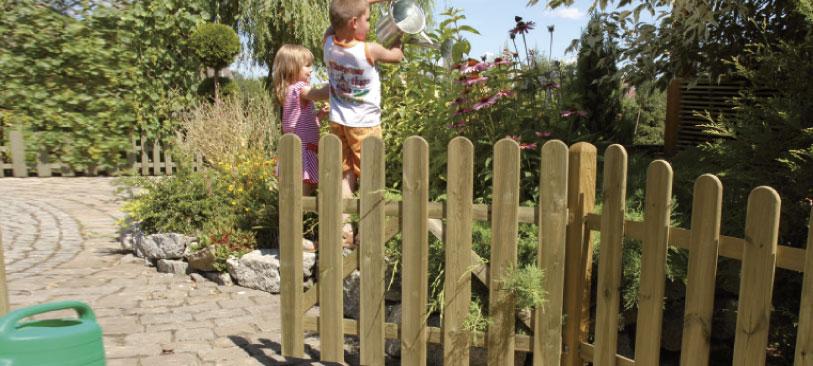 Rustikale Gartenzäune verschiedene gartenzäune habisreutinger