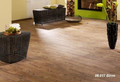 vinylboden mit kork trittschall terhrne vinyl mm klick eiche bogota dunkelbraun inkl. Black Bedroom Furniture Sets. Home Design Ideas