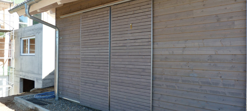 Turbo Ecograu Holzfassade | Habisreutinger TI74